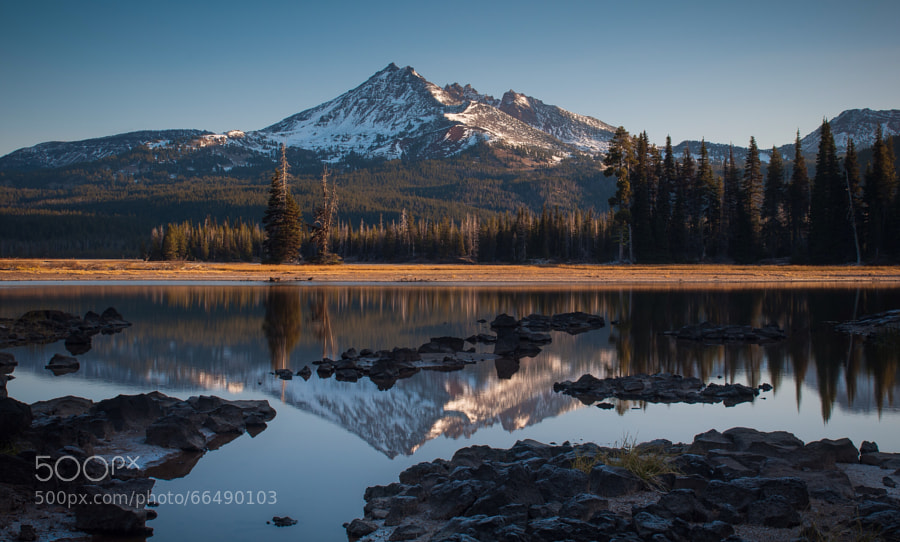 Photograph Sparks Lake Morning (Wide) by Jeff Carlson on 500px