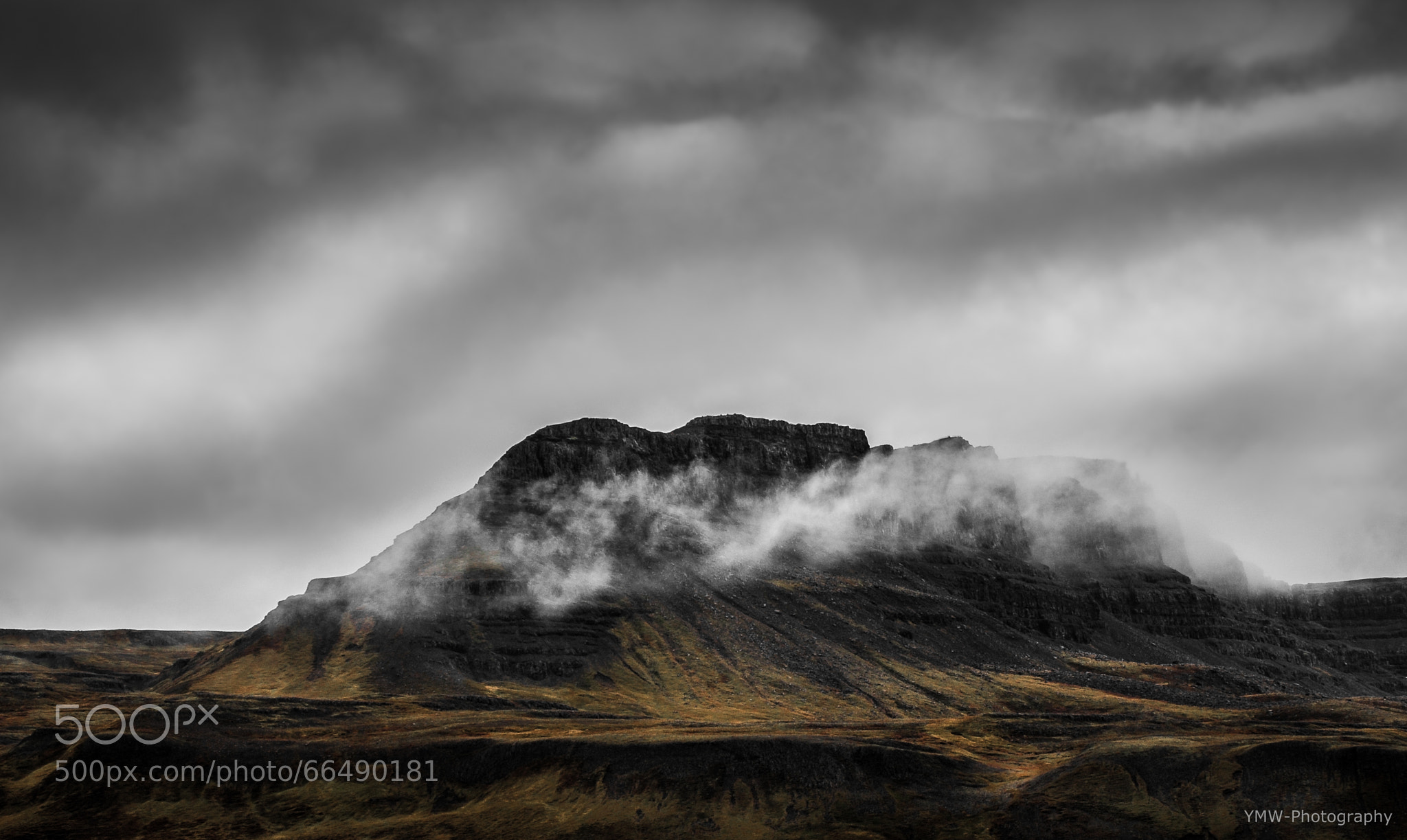 Photograph my Iceland XI - draped in clouds by yoshiko wagner on 500px
