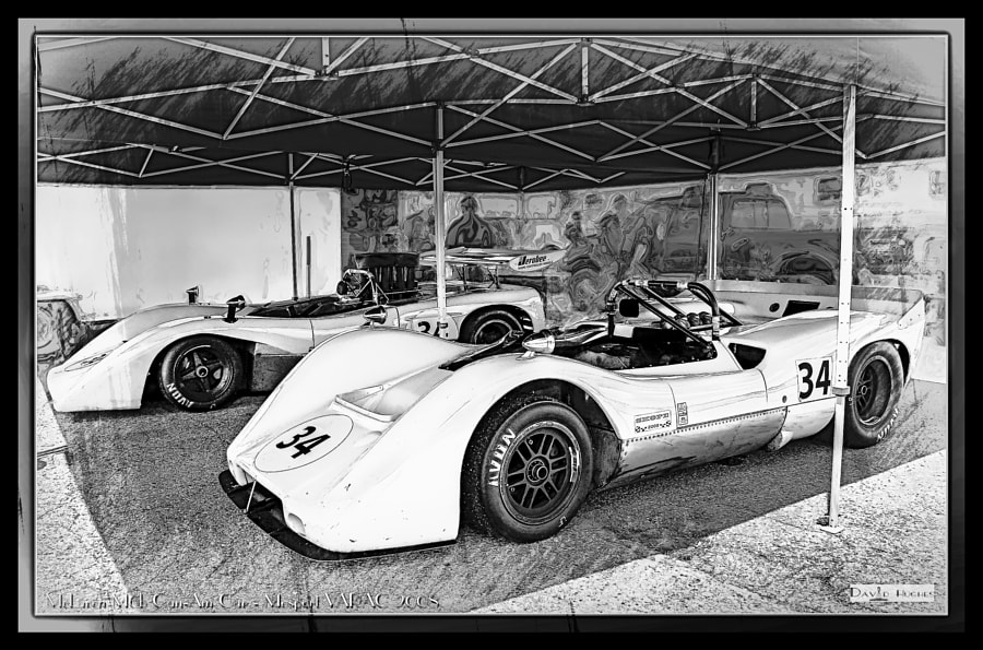 VARAC Can-Am McLarens (b/w)