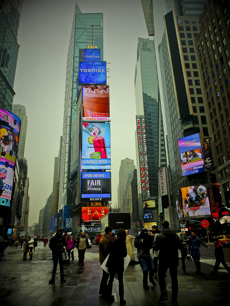 Photograph Times Square by Héctor Barrera Carrera on 500px