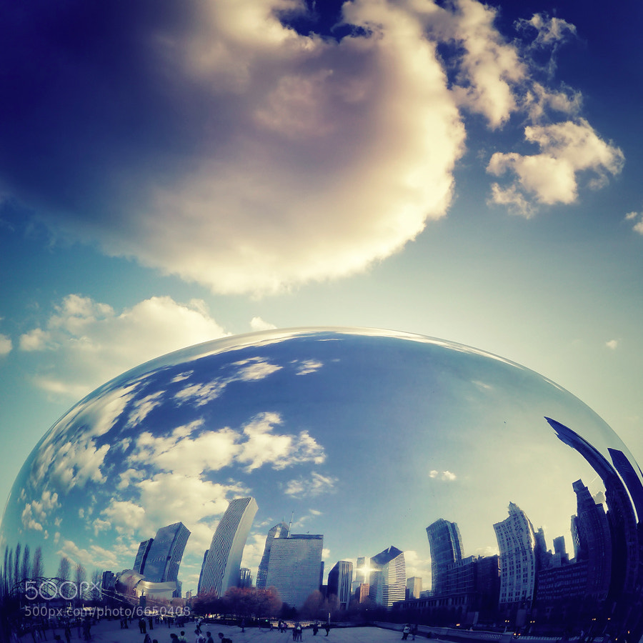 Photograph Cloud Gate II by Isac Goulart on 500px