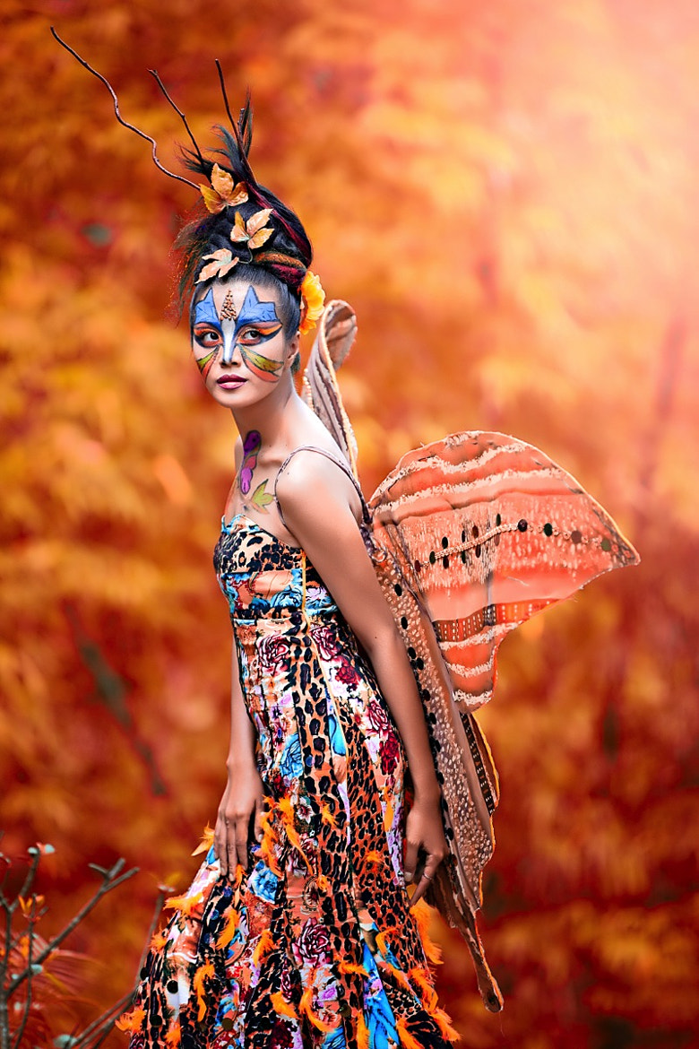 Photograph Butterfly Girl by Andreas Hartanta on 500px