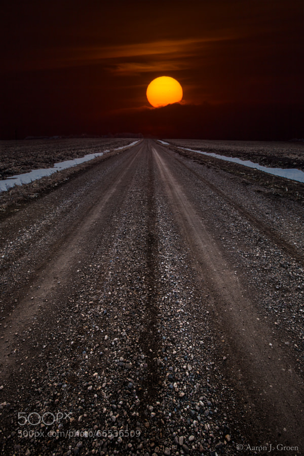 Photograph Road to the Sun by Aaron J. Groen on 500px