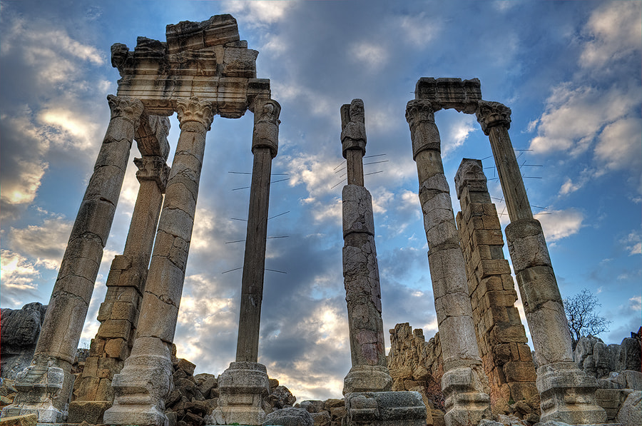 The Roman temple of Kalaat Faqra by Vartkes Nadjarian on 500px.com