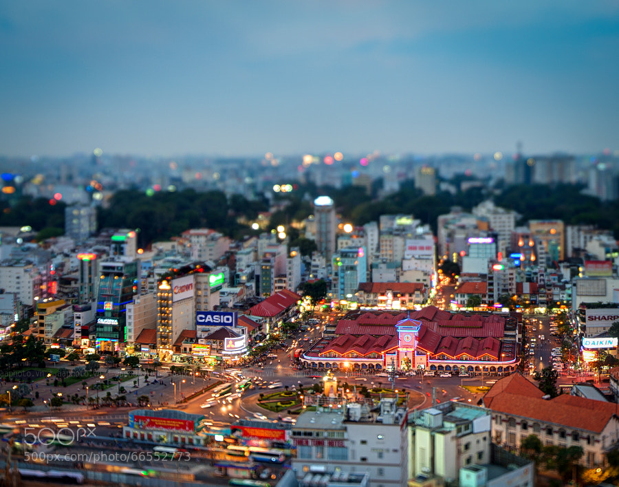Photograph Iconic Ben Thanh market of Saigon by Duong Nguyen The on 500px