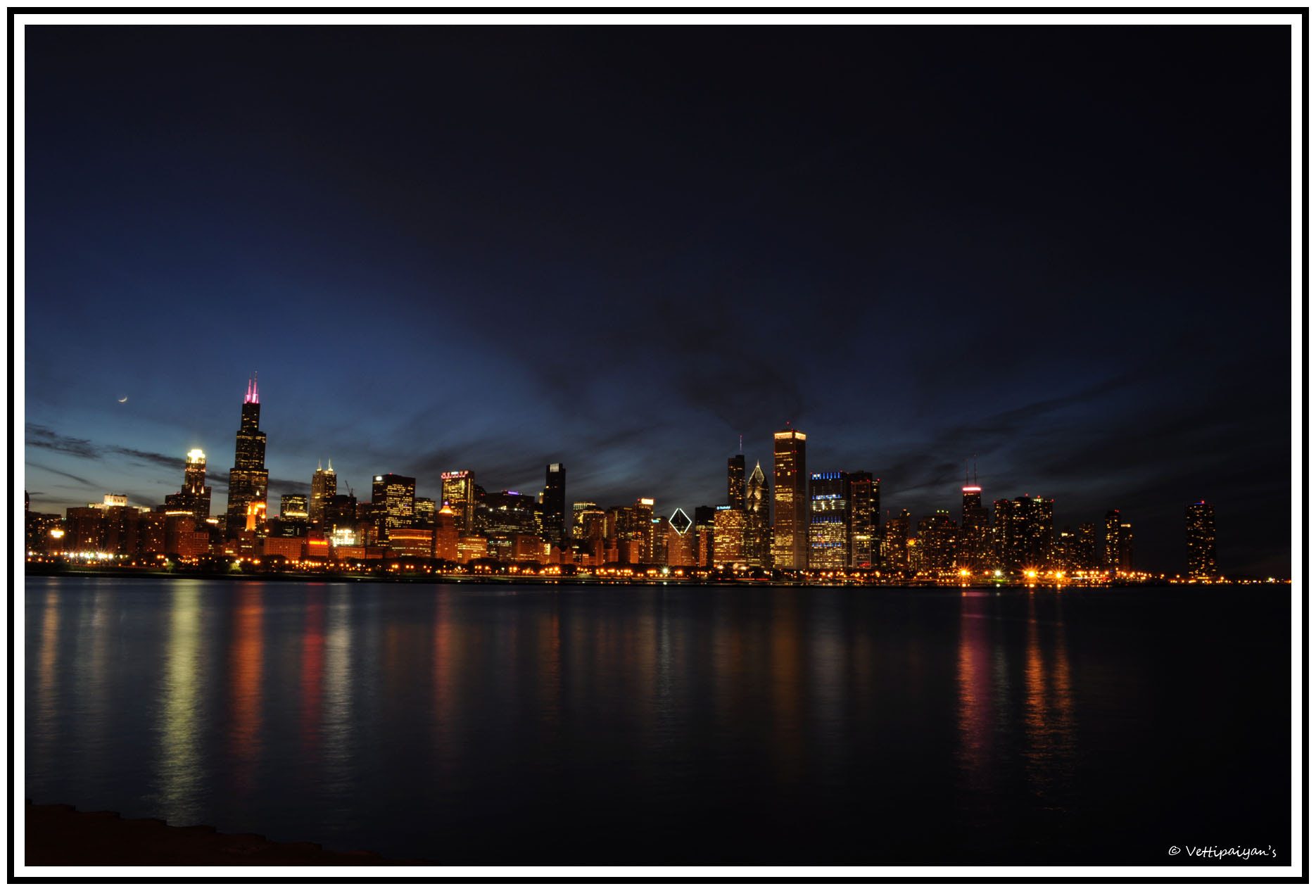 Photograph Chicago Skyline by Surendran Narayanamoorthy on 500px