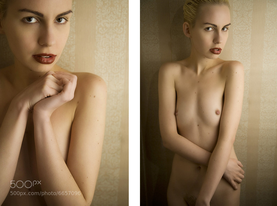 Photograph Nude Portrait by Kevin Canada on 500px