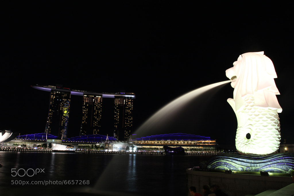 Photograph the singapore merlion by elec neo on 500px