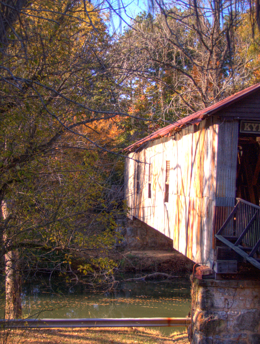 Photograph KYLMULGA MILL COVERED BRIDGE by mac dunlap on 500px