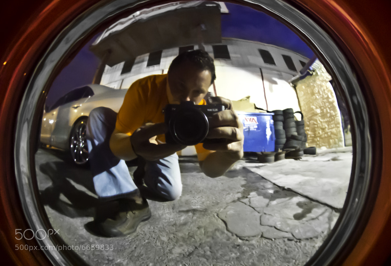 Photograph Hub Cap Selfie by Gino Barasa on 500px