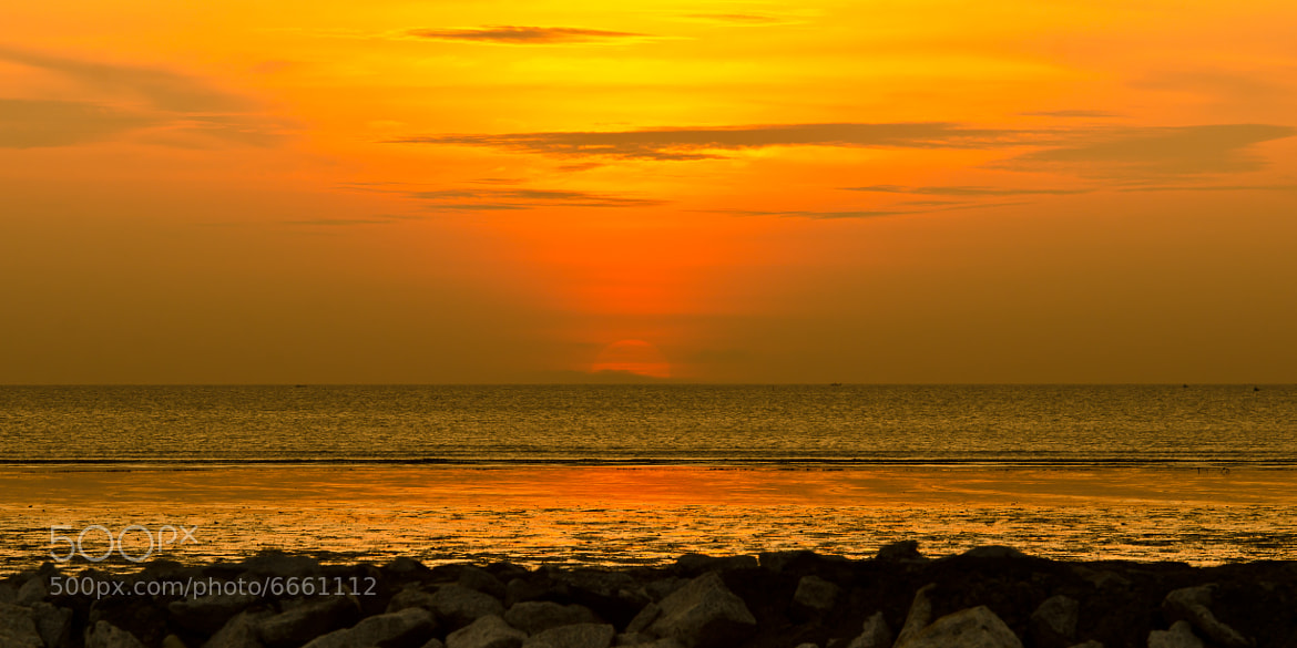 Photograph sunset by uzair ar on 500px