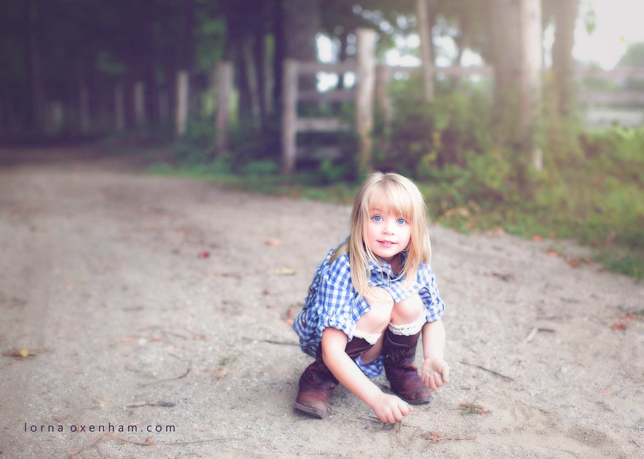 Photograph Who doesn't like playing in dirt? by Lorna Oxenham on 500px