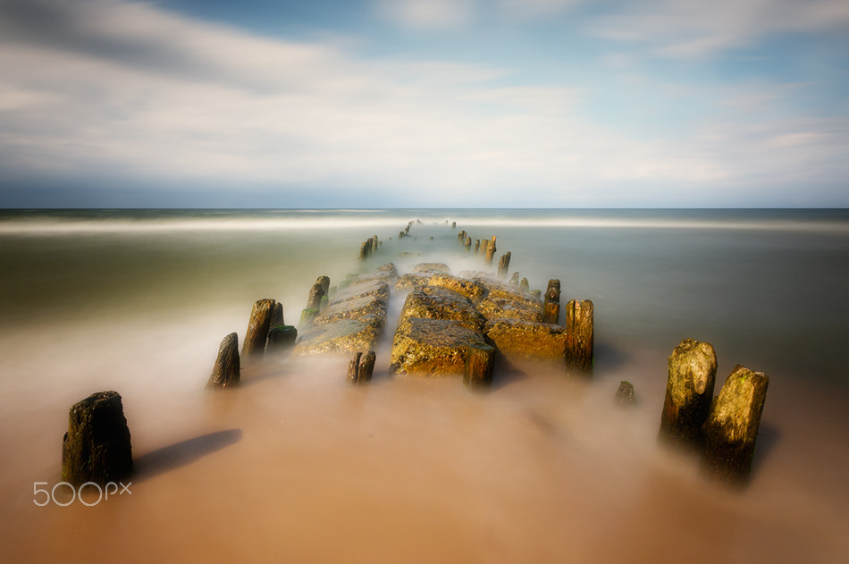 Photograph sea road by Piotr Krol on 500px