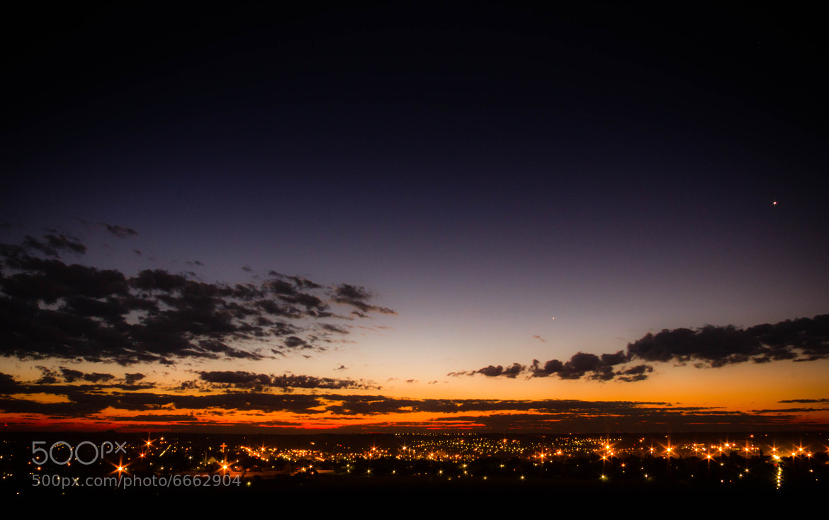 Photograph Eastern Free State Town at Sunset by Heinrich Stofberg on 500px
