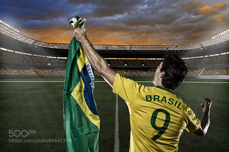 Photograph Brazilian soccer player by Beto Chagas on 500px