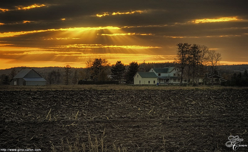 Photograph Last Sun Ray by Gino Caron on 500px