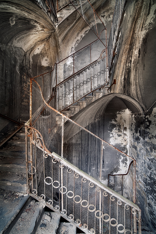 Photograph stairway to hell by Sven Fennema on 500px