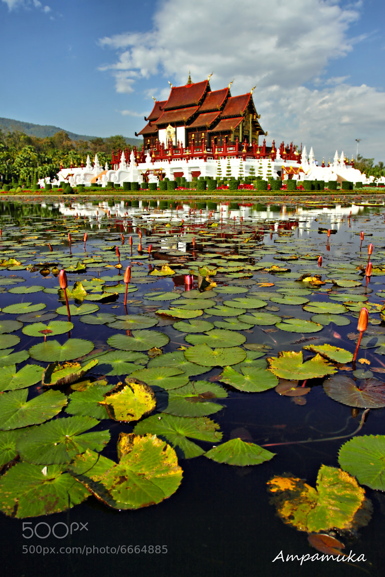 Photograph Ho Kham Luang Royal Pavilion  by Suradej Chuephanich on 500px