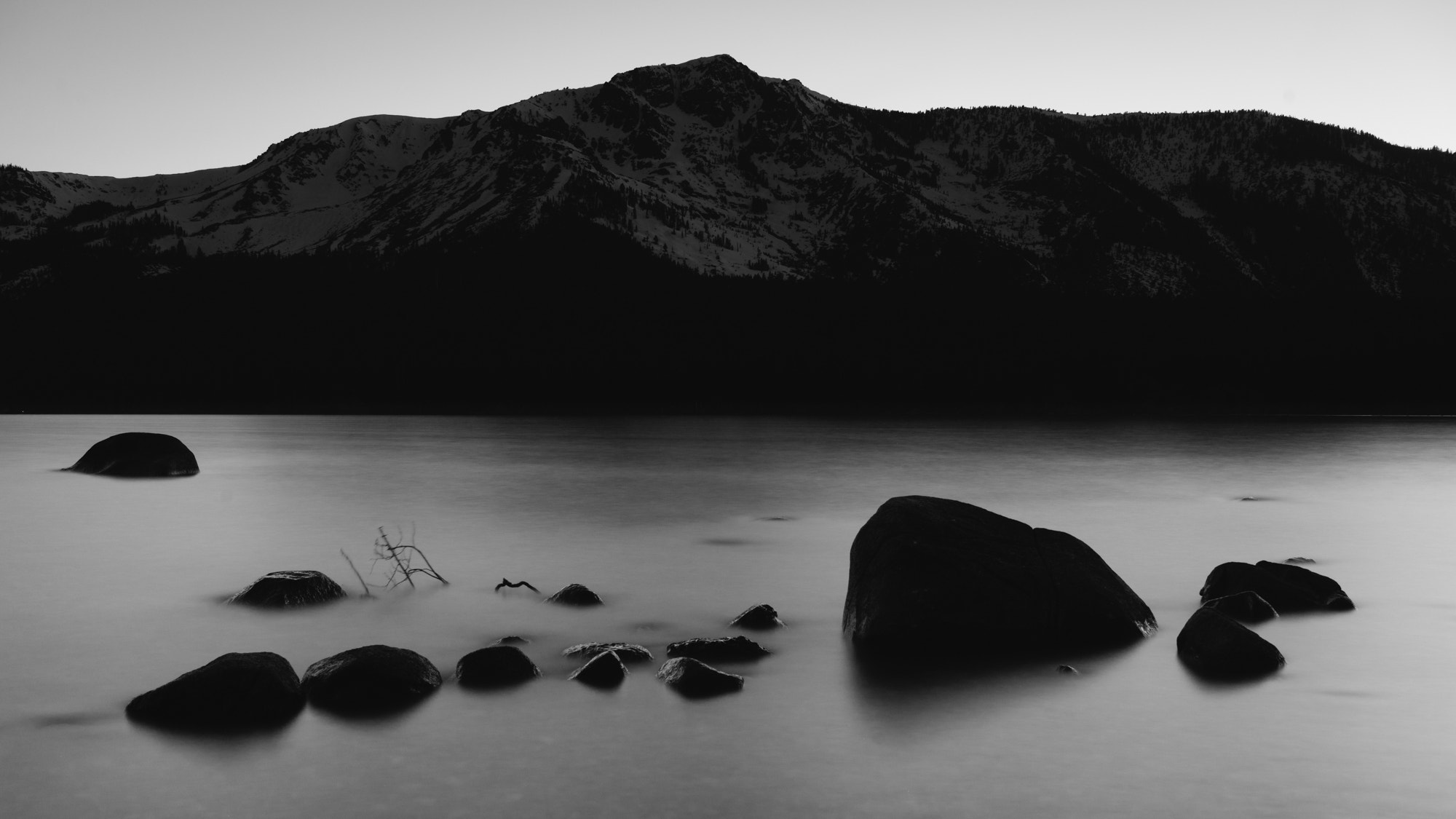 Photograph Mt. Tallac in Twillight by Tim Peare on 500px