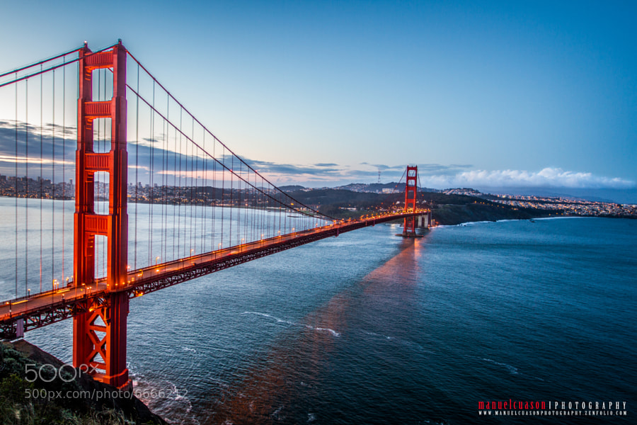 Photograph Golden Gate Bridge by Manny Cuason on 500px