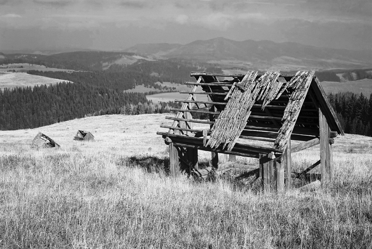 Photograph history in the mountains by Martin Slniecko on 500px