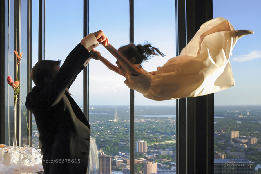 Photograph The Wedding Flight by Laurie Hernandez on 500px