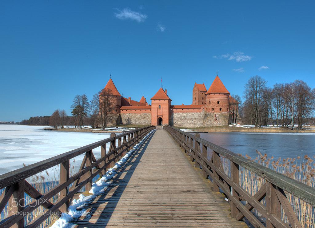 Photograph Trakai Island Castle by David Kosmos Smith on 500px