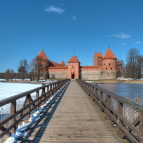 Trakai Island Castle by David Kosmos Smith (davidkosmos)) on 500px.com