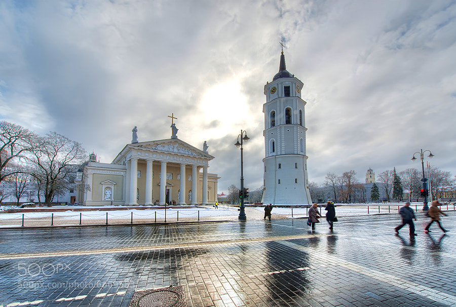 Photograph Cathedral of Vilnius by David Kosmos Smith on 500px