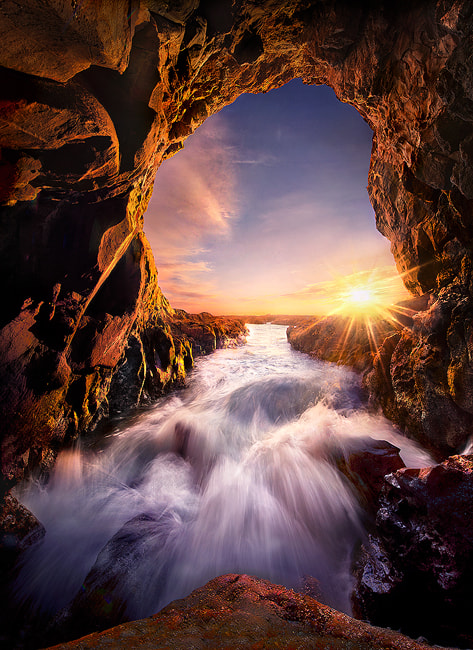 Photograph Light Cave by Marc  Adamus on 500px