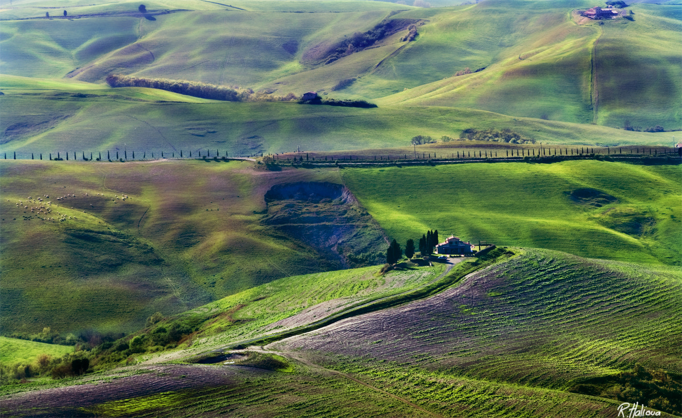 Photograph Tuscany Hills by Robin Halioua on 500px