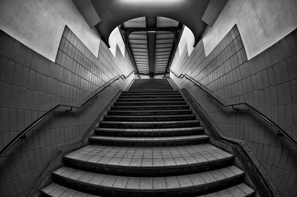 Photograph Curved destination II by Jef Van den Houte on 500px