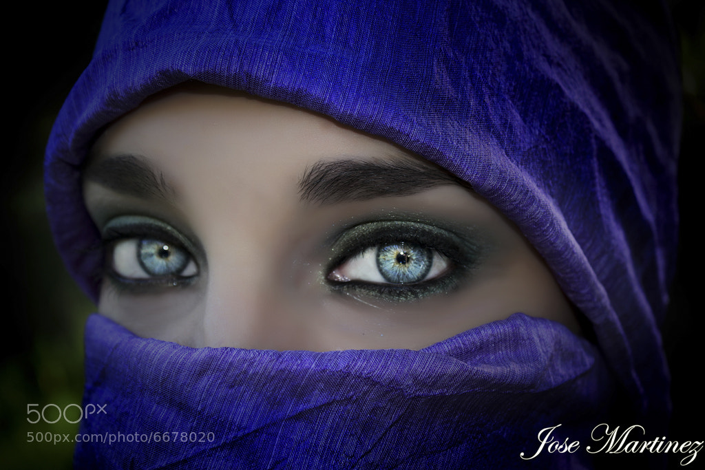 Photograph The deep blue eyes by Jose Martinez Fotografia on 500px