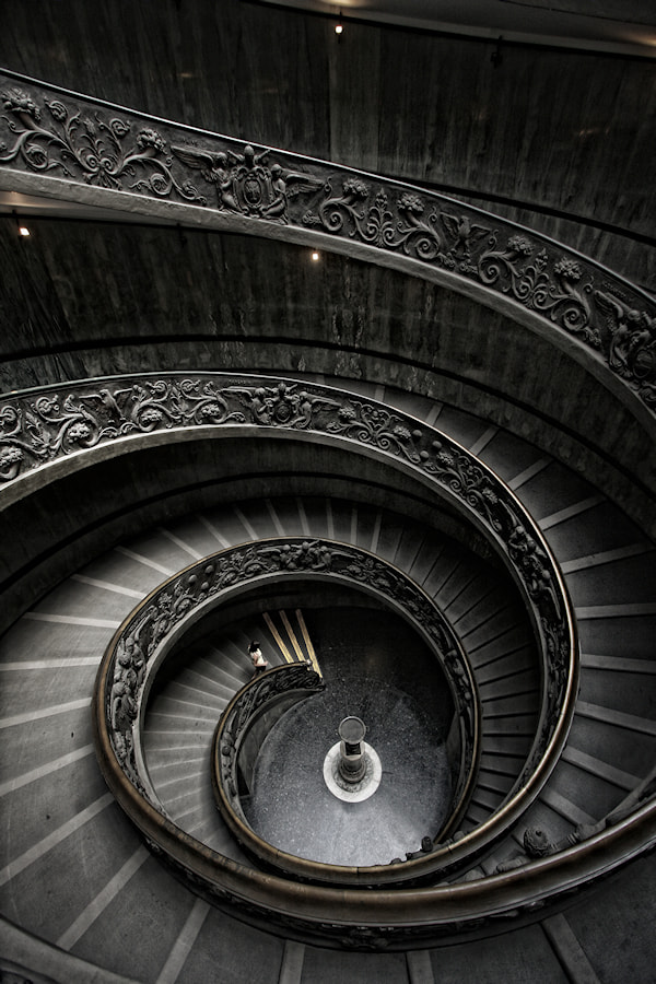 Photograph Vatican Museum Stairs by Carlos Gotay on 500px