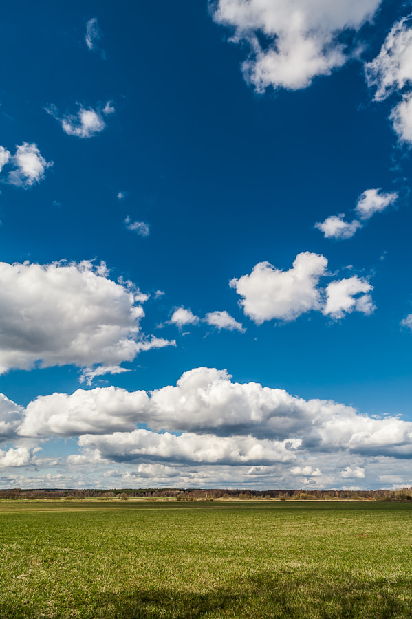 Photograph Field of Clouds at Finjasjön by Magnus Larsson on 500px