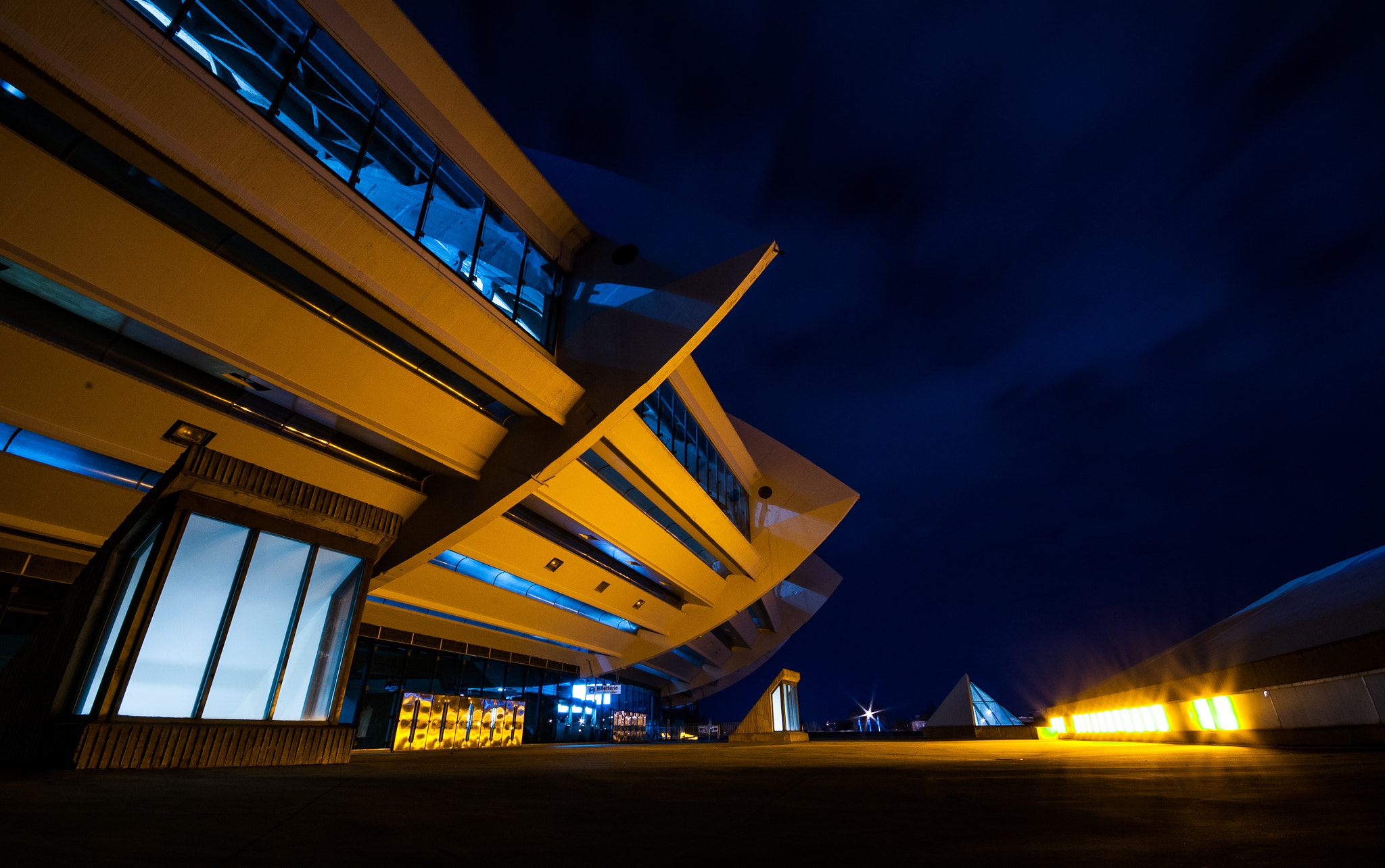 Photograph Spaceport Olympique by E K on 500px