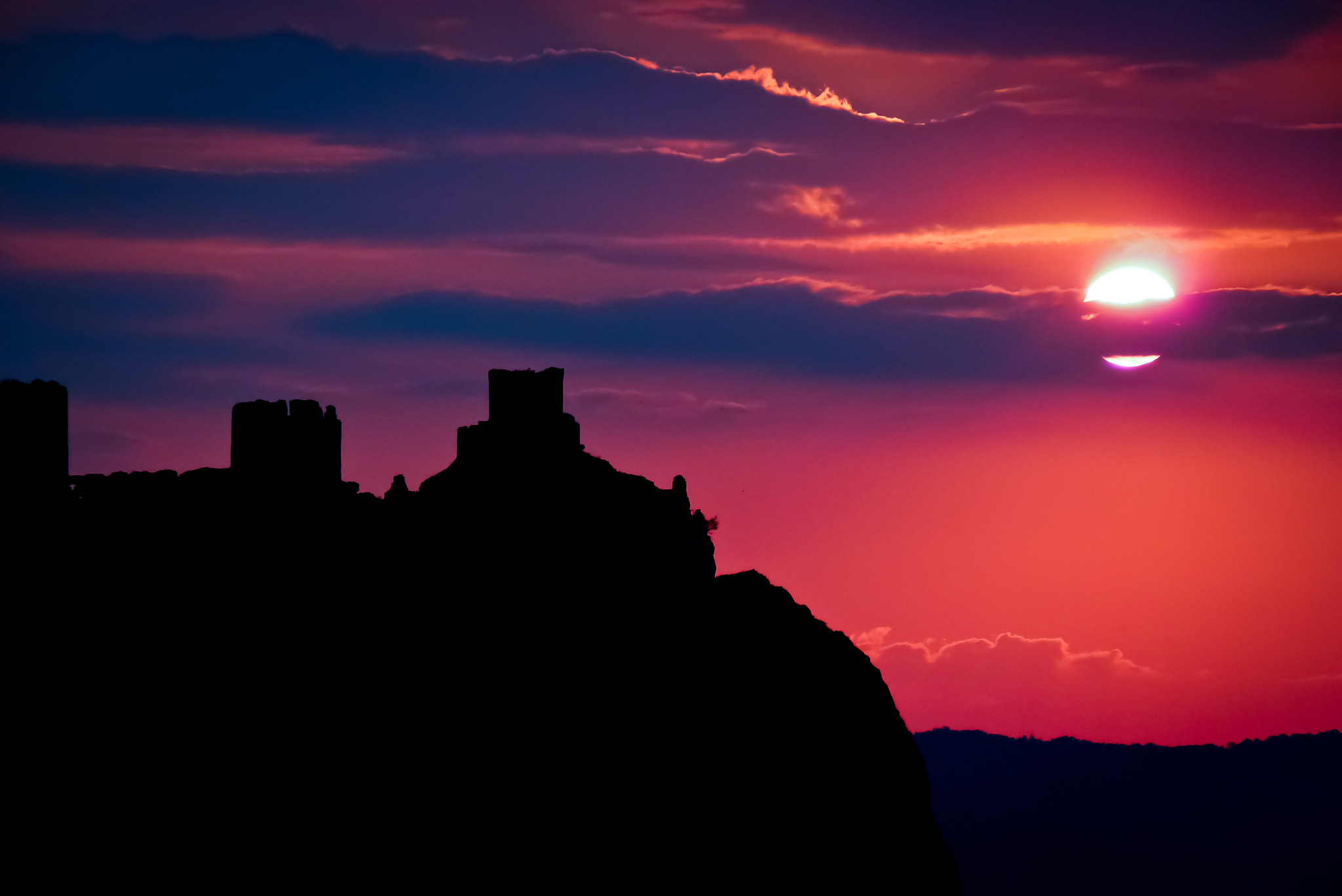 Photograph When the sun goes down - Golubac fortress by Dejan Trifunovic on 500px
