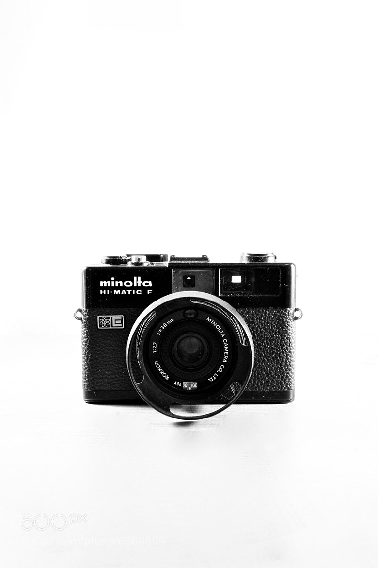 Photograph Minolta Hi-matic F by S.Chong  Photography on 500px
