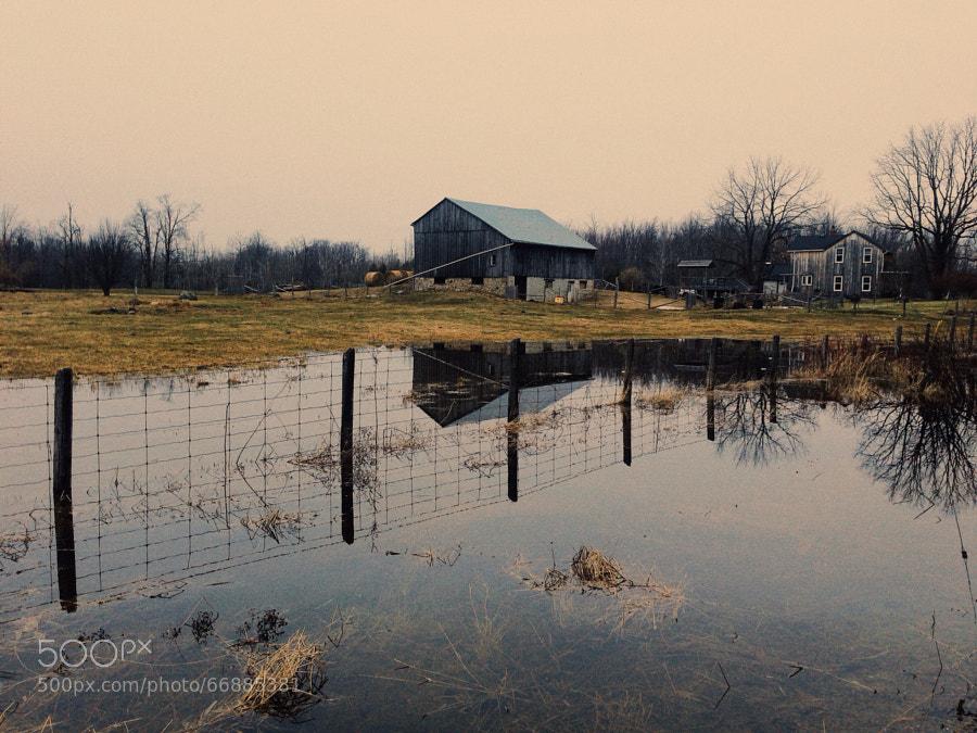 Photograph Ontario Farm by Evgeny Tchebotarev on 500px