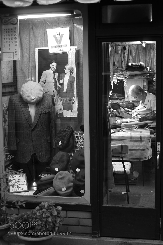 Photograph  dressmaking shop by Mitsuru Moriguchi on 500px
