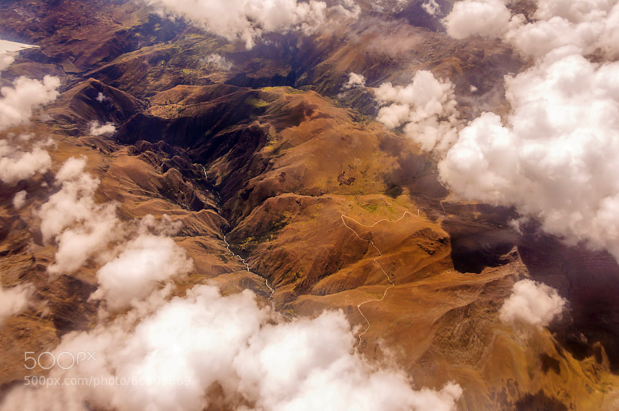 Photograph Over Andes by Csilla Zelko on 500px
