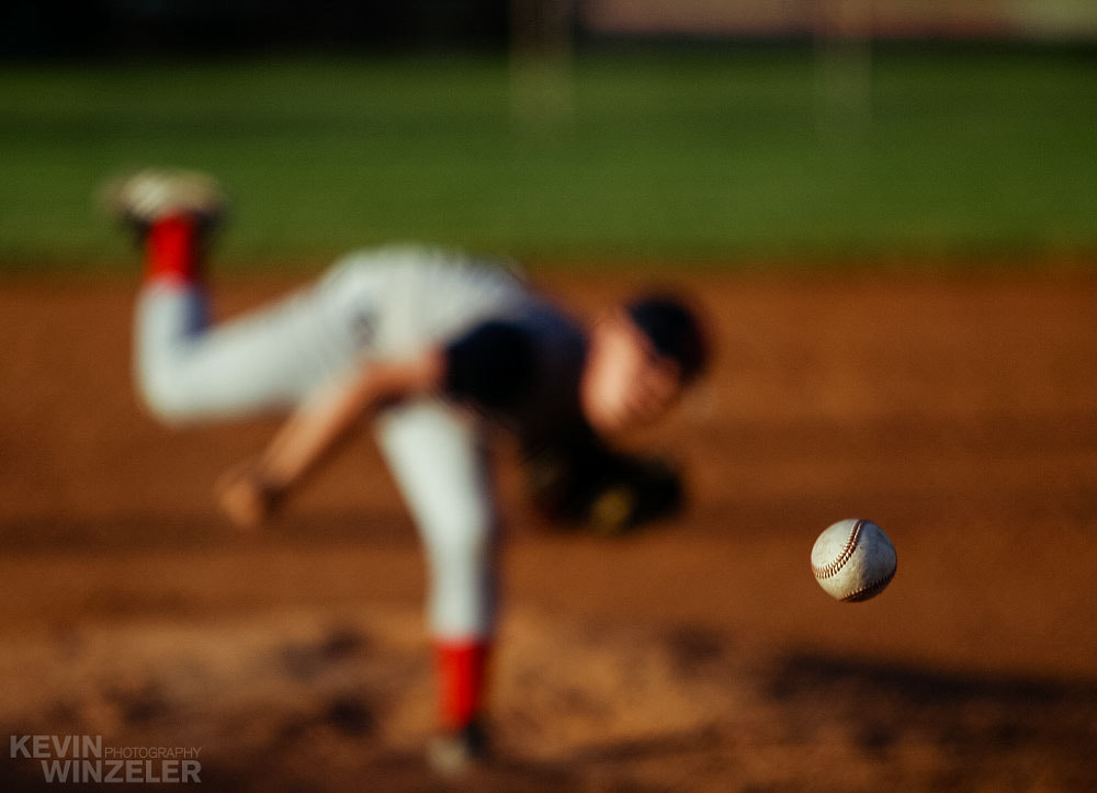 Photograph The Pitch - Baseball by KevinWinzeler.com  ~ sports, lifestyle on 500px