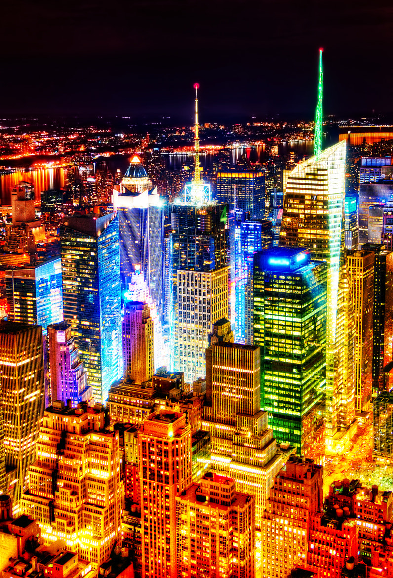 Photograph New York City at night by Peicong Liu on 500px