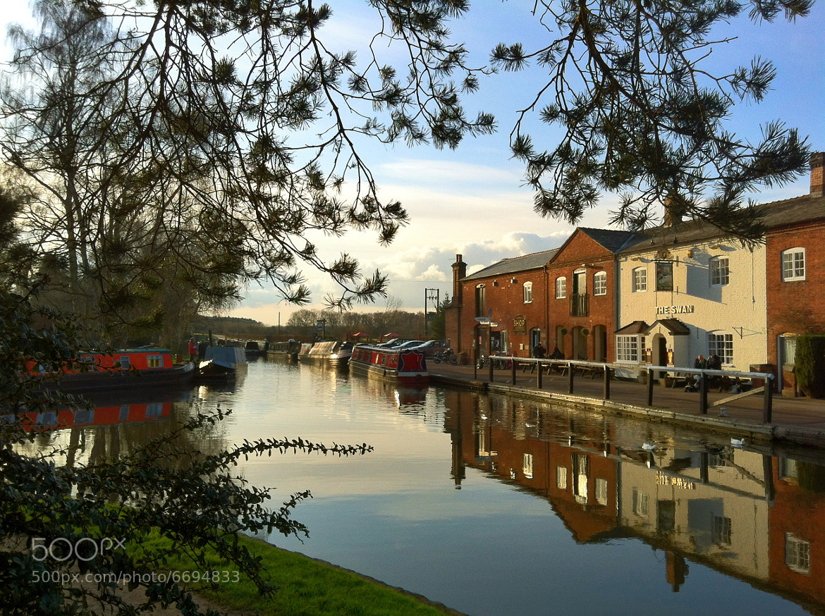 Photograph Reflections on the Canal by mark carlisle on 500px