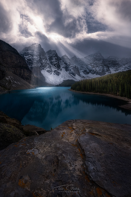 Photograph Moraines Mood by Ted Gore on 500px
