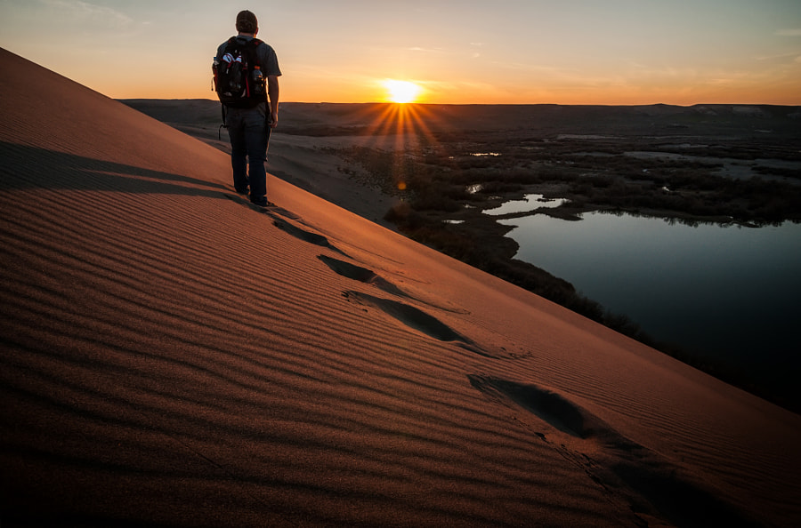 Photograph Walking The Dune by Vincent Anzalone on 500px