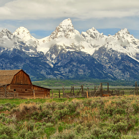 Northern Barn on Mormon Row by Jeff Clow (jeffclow)) on 500px.com