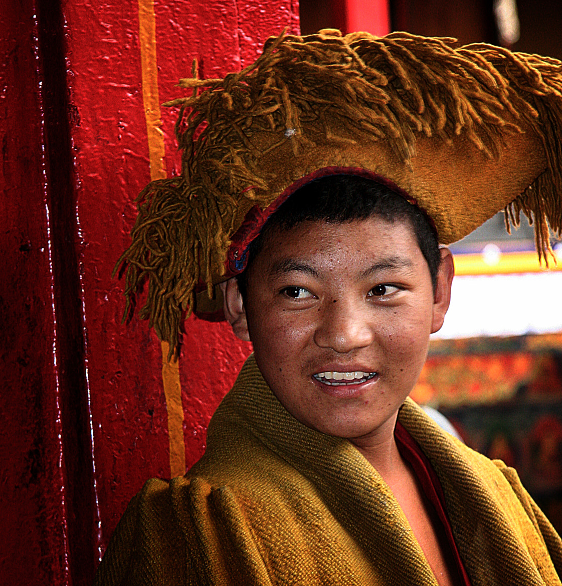 Photograph young Tibetan monk by anna carter on 500px