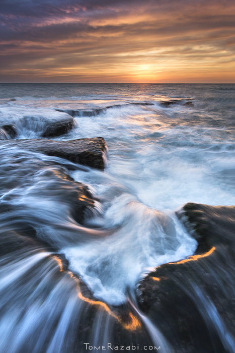 Photograph Flowing Hues by Tomer Razabi on 500px