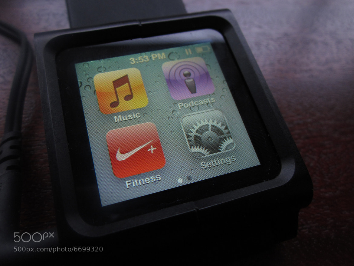 Photograph iPod nano + LunaTik watchband 010 by Chris Southcott on 500px